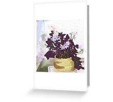 Blooming Shamrock Greeting Card