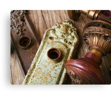 Vintage Hardware Canvas Print
