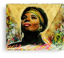 Ladies First  Canvas Print