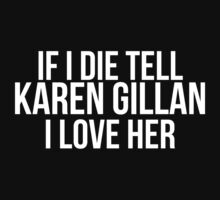 Tell Karen Gillan #2 by gingerfez
