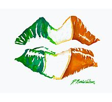 Kiss Me, I'm Irish Photographic Print