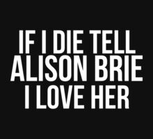 Tell Alison Brie #2 by gingerfez