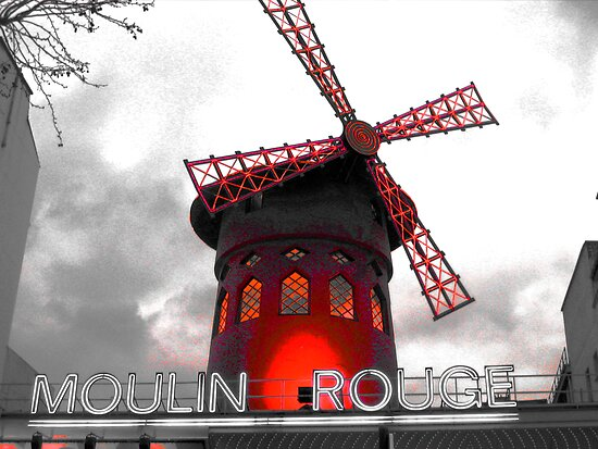 Moulin Rouge Paris by lotusblossom
