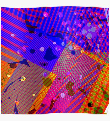 acid worm-holes Poster