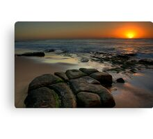 SUNRISE BAR BEACH Canvas Print