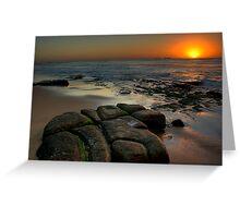 SUNRISE BAR BEACH Greeting Card