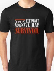 2015 Ultimate Pi Day Survivor T-Shirt