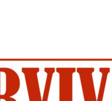 2015 Ultimate Pi Day Survivor Sticker