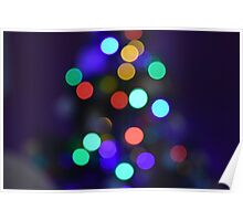 Twinkling lights Poster