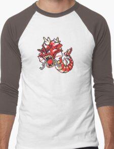 Red Gyrados GBC Men's Baseball ¾ T-Shirt