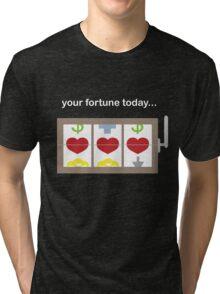 Slot Machine Fortune Teller Tri-blend T-Shirt