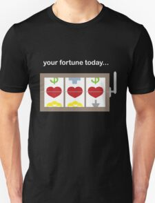Slot Machine Fortune Teller Unisex T-Shirt