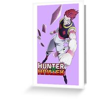 Hisoka - Hunter x Hunter Greeting Card