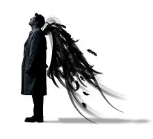 Castiel, little fallen angel by littleiniquity