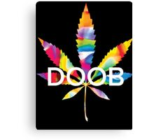 Trippy Doob Canvas Print