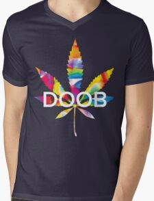 Trippy Doob Mens V-Neck T-Shirt