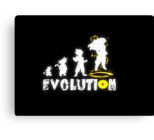 Goku´s Evolution Canvas Print