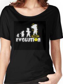 Goku´s Evolution Women's Relaxed Fit T-Shirt