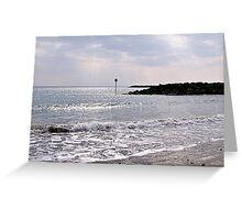 Lyme Regis Seascape Greeting Card