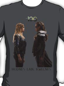 Clexa - Love is weakness T-Shirt