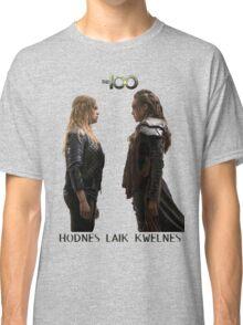 Clexa - Love is weakness Classic T-Shirt