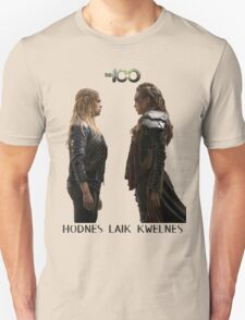 Clexa - Love is weakness Unisex T-Shirt