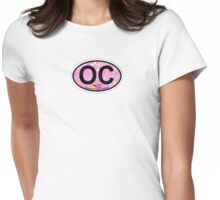 Ocean City - New Jersey. Womens Fitted T-Shirt