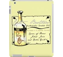 CULT BROTHERS SNAKE OIL iPad Case/Skin