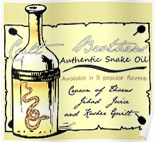 CULT BROTHERS SNAKE OIL Poster