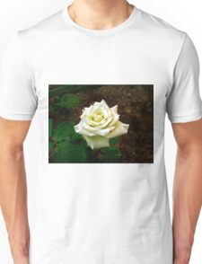 Little white rose 7 Unisex T-Shirt