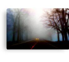 Distant Headlights Canvas Print