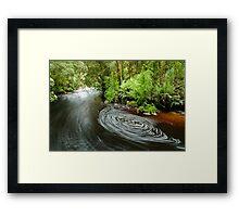 Bird River, Tasmania - 1 Framed Print