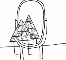 the self concious food pyramid by wislingsailsmen