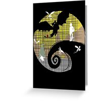 Toothless Nightmare3 Greeting Card