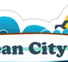 Ocean City - New Jersey. Sticker