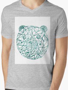 bear power Mens V-Neck T-Shirt