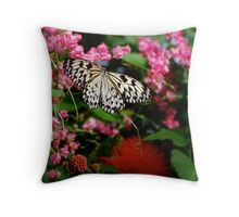 Paper Kite In The Pink Throw Pillow