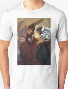Painted Blue T-Shirt