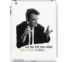 Reservoir Dogs - Like A Virgin iPad Case/Skin