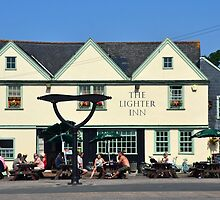 The Lighter Inn, Topsham, Devon UK by lynn carter