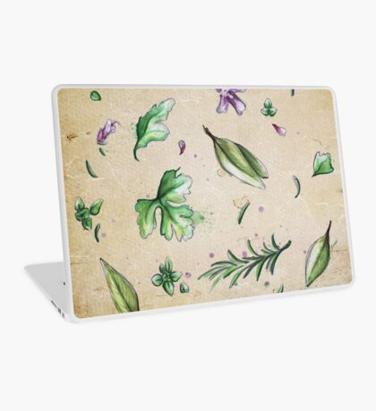 Parsley, Sage, Rosemary and Thyme Laptop Skin