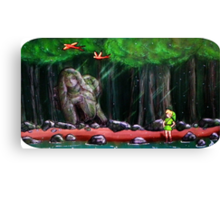Link's Reminder of the Past  Canvas Print