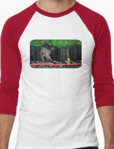 Link's Reminder of the Past  Men's Baseball ¾ T-Shirt
