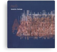 Autechre - Garbage Canvas Print