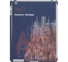 Autechre - Garbage iPad Case/Skin