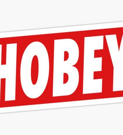 Hobey Sticker