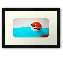 Forgotten Pokeball Framed Print