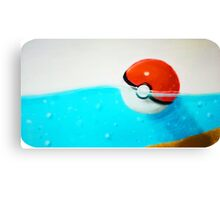 Forgotten Pokeball Canvas Print