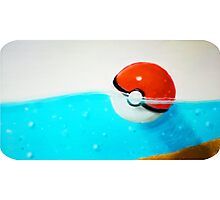 Forgotten Pokeball Photographic Print