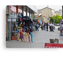 Legs in Kosovo Canvas Print